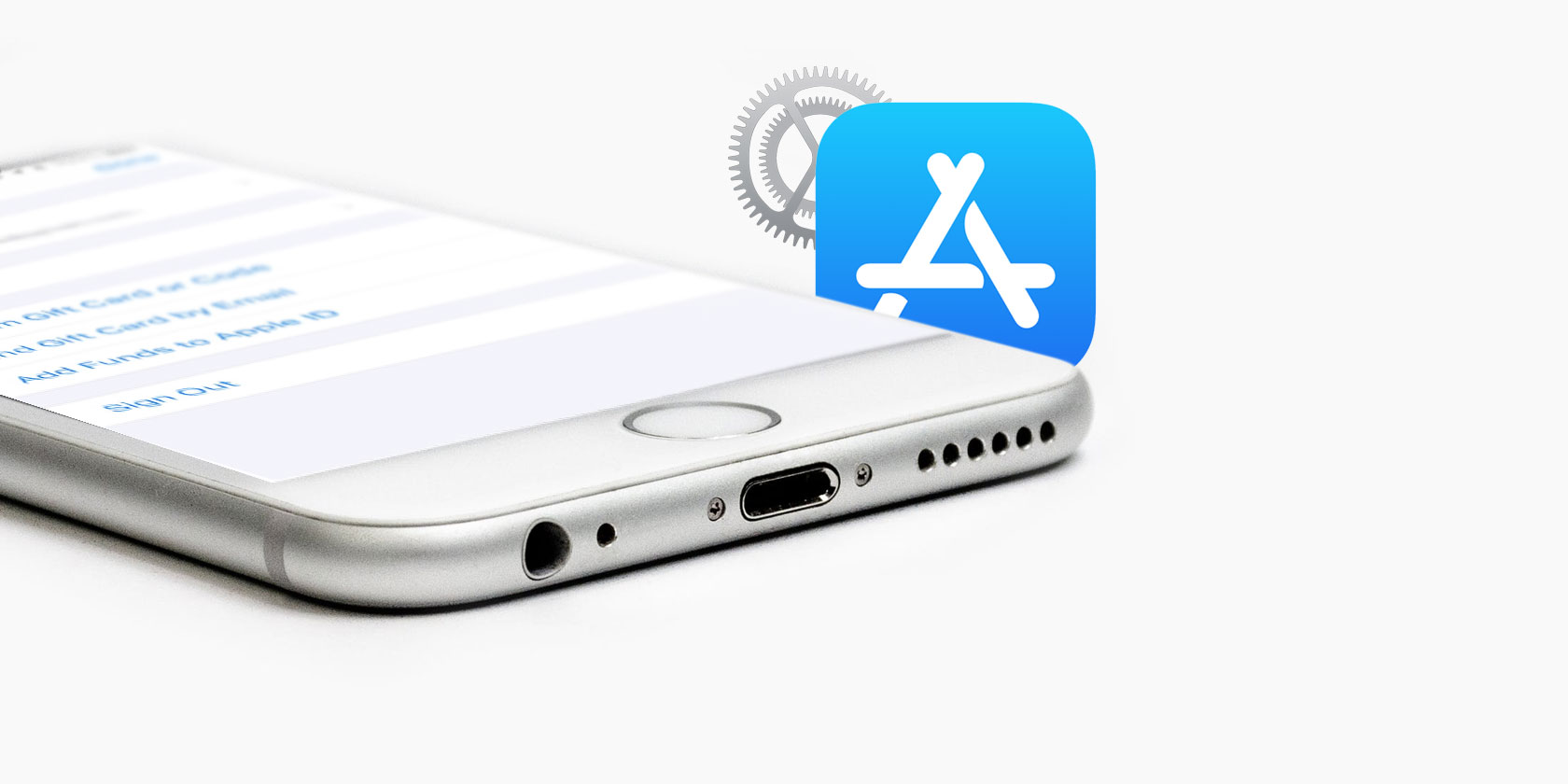 how to find apps in iphone settings