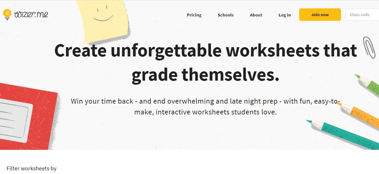 wizer-worksheet-screenshot